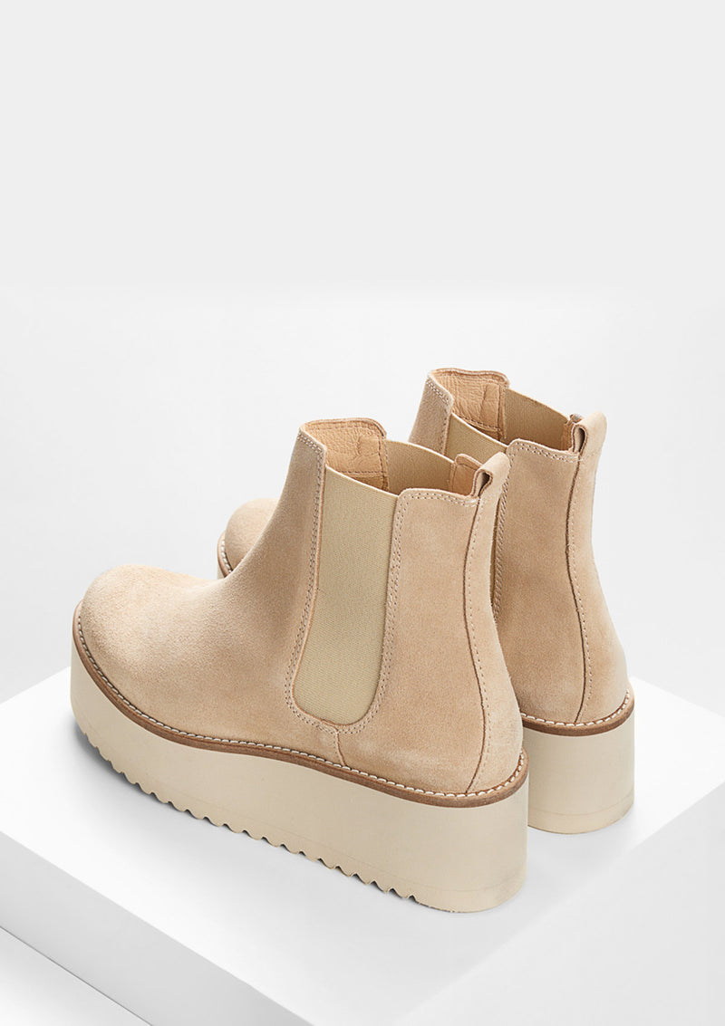 Light Beige Boots