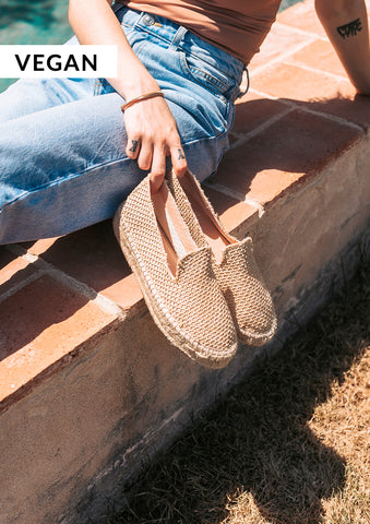 Image of Slip on Raffia