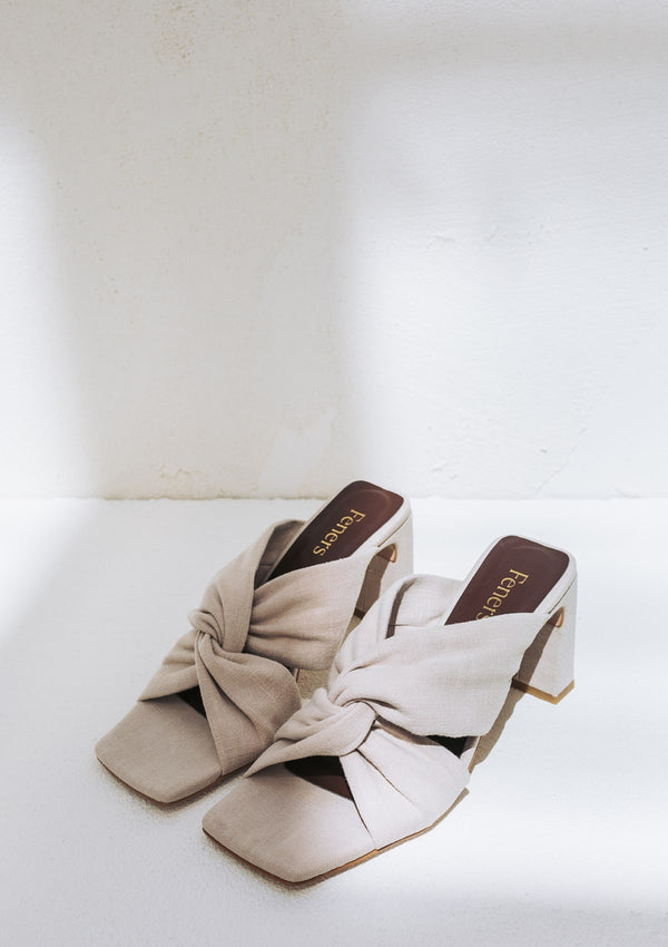 Enchante Beige Linen Vegan