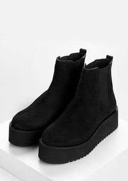 Light Black Boots