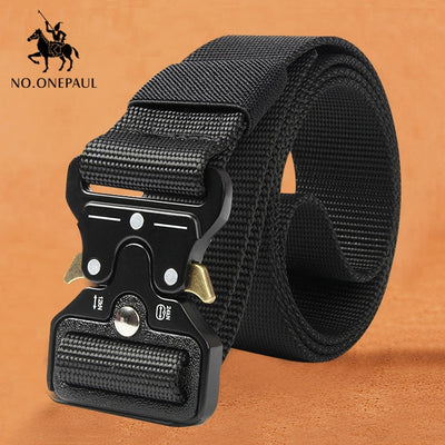 Genuine Leather High Quality Black Buckle Casual Belts