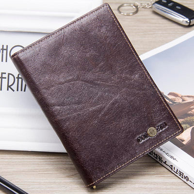 Casual Genuine Leather Male Wallets