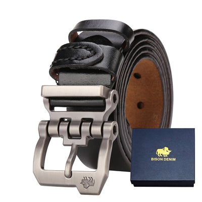 Genuine Leather Designer Belt For Men Vintage N71223
