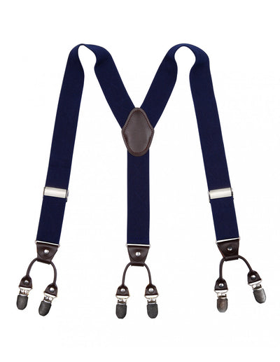 Blue Only Suspender