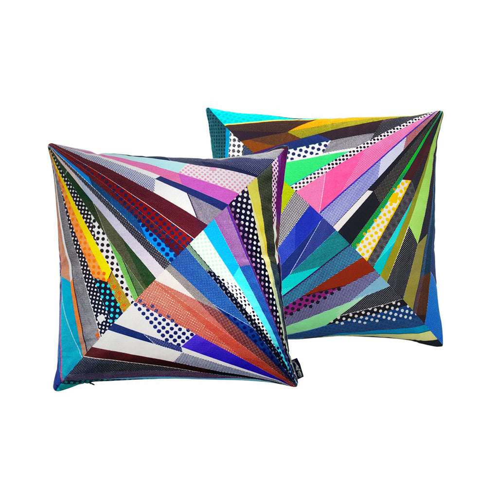 Point Cut #2 - Diamond Cut Cushion Cover - shop.reettahiltunen.com