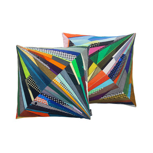 Point Cut #1 - Diamond Cut Cushion Cover - shop.reettahiltunen.com