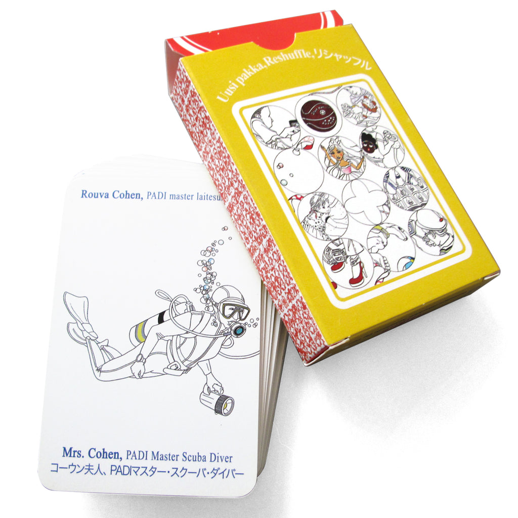 Reshuffle Playing Cards/ Uusi Pakka pelikortit