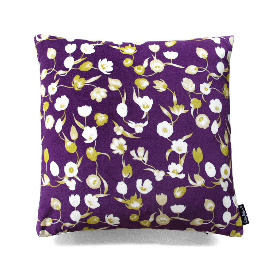 Flourish! - Cushion Cover (royal blue) - shop.reettahiltunen.com