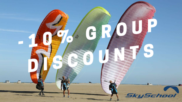 10% Discount for Group Bookings - Deposit Only