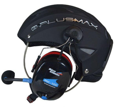 Plusmax Integrated Helmet/Headset from SkySchool