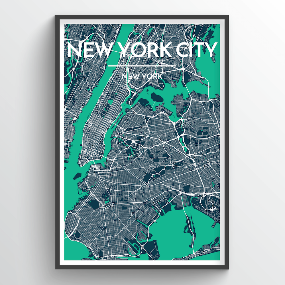 City Map Art