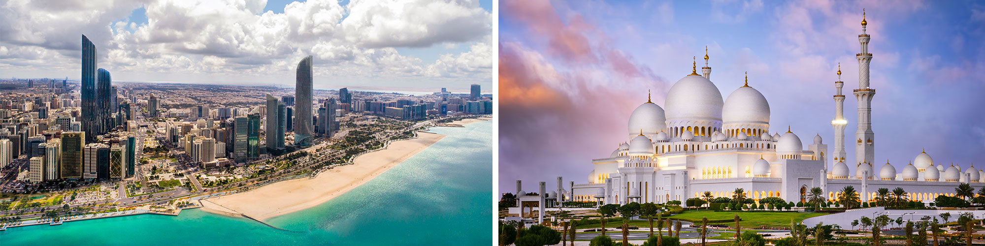Fine Art Photography Prints of Abu Dhabi - Satellite Images of Earth - Point Two Design