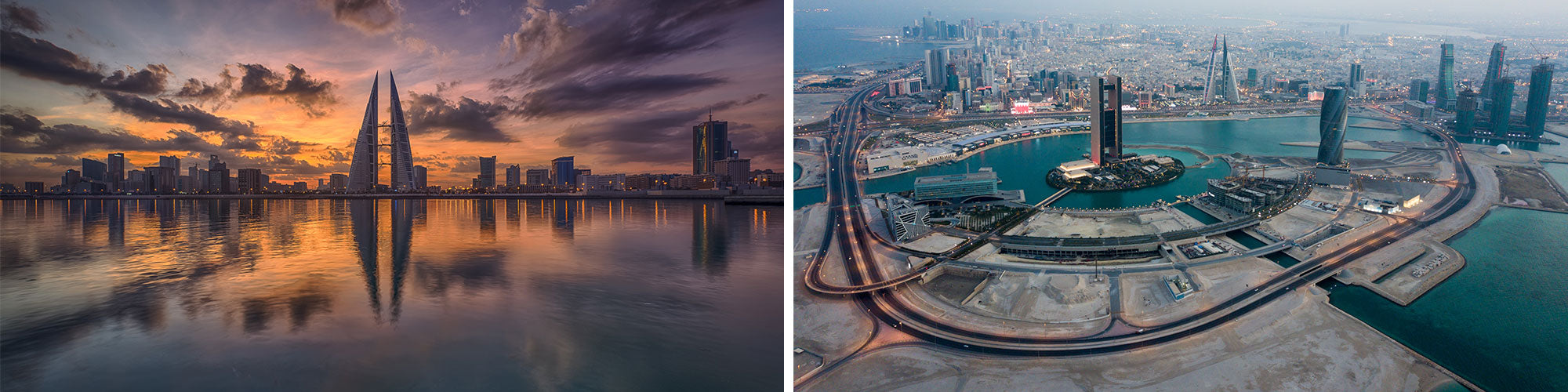 Fine Art Photography Prints of Bahrain - Satellite Images of Earth - Point Two Design