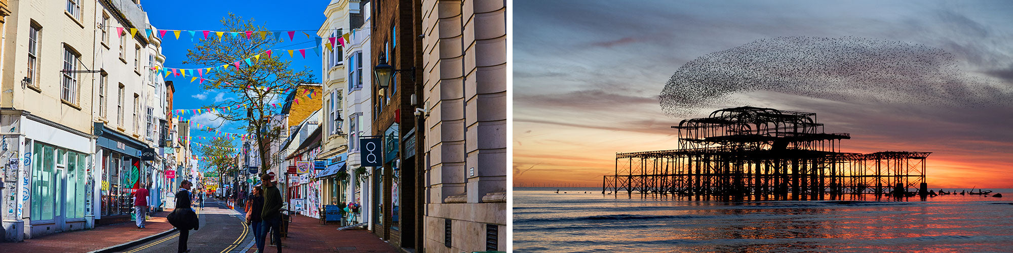Fine Art Photography Prints of Brighton - Satellite Images of Earth - Point Two Design