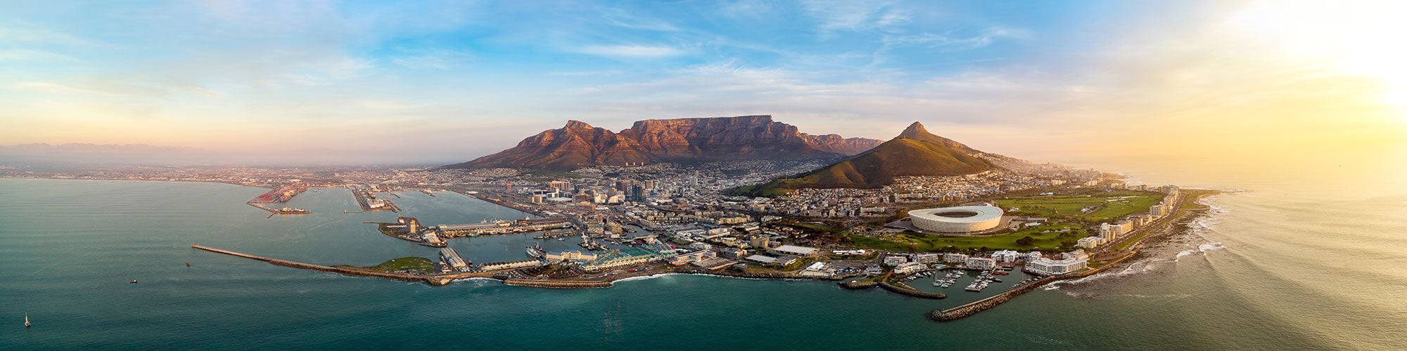 Fine Art Photography Prints of Cape Town - Satellite Images of Earth - Point Two Design