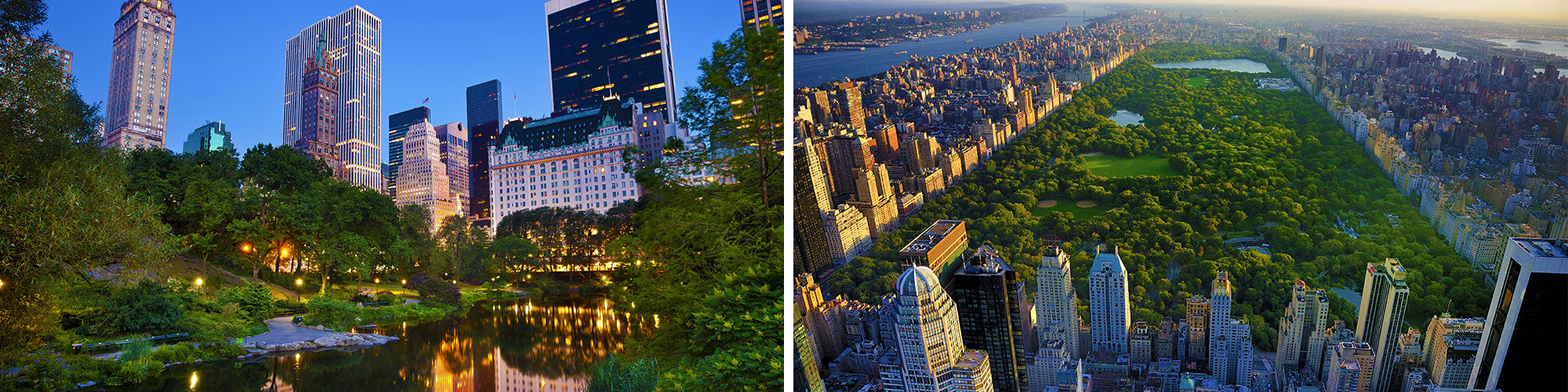 Fine Art Photography Prints of Central Park - Satellite Images of Earth - Point Two Design