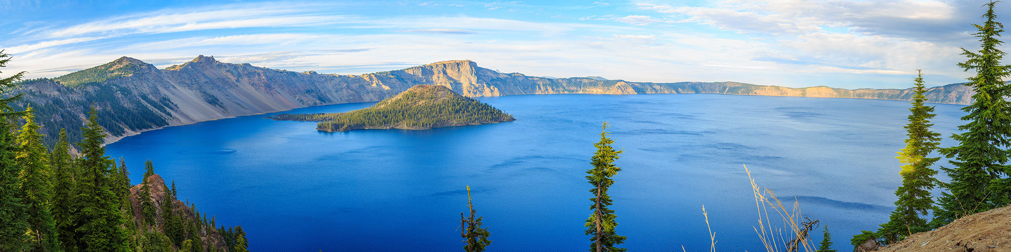 Fine Art Photography Prints of Crater Lake - Satellite Images of Earth - Point Two Design