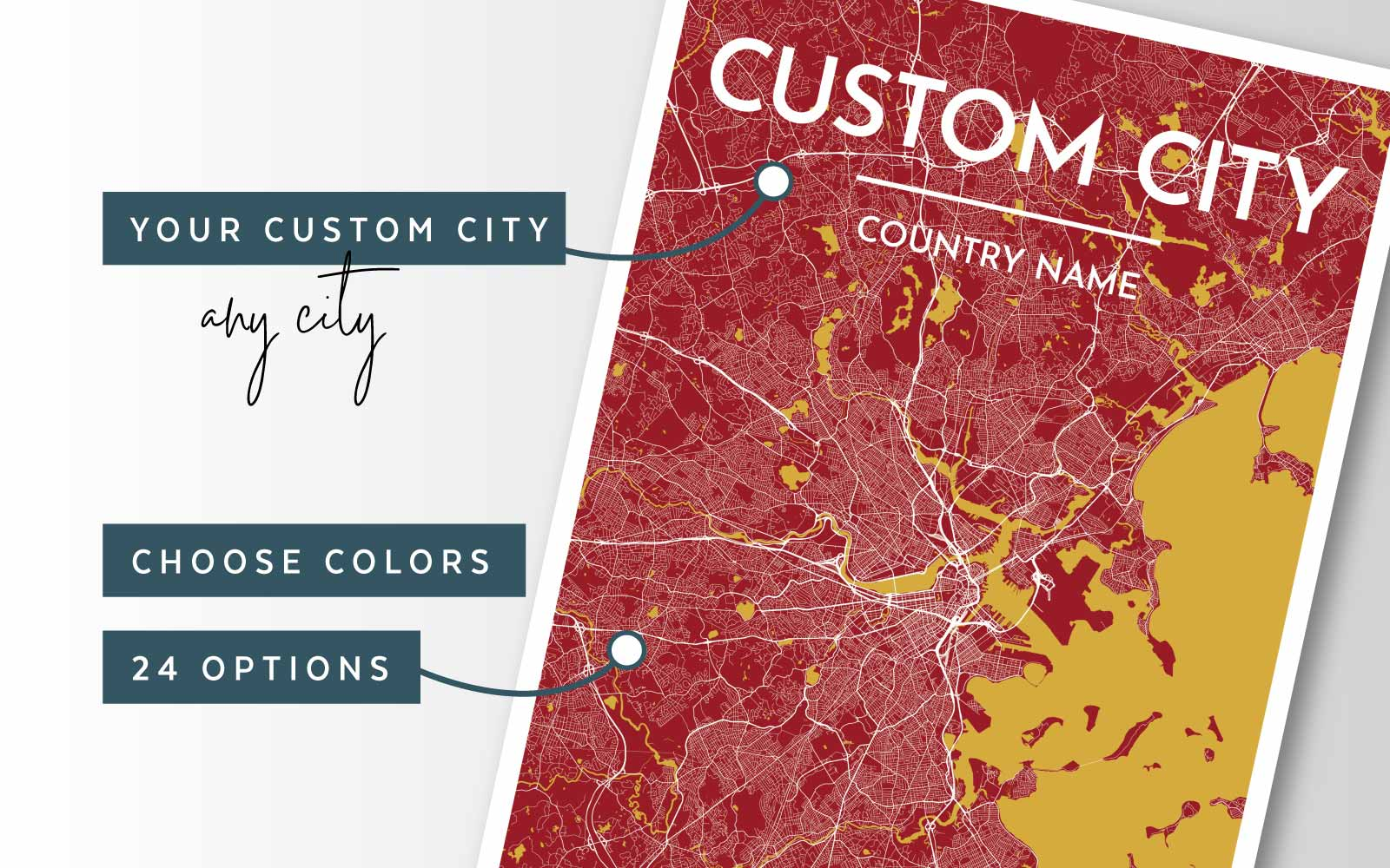 Create a Custom Map of Any City