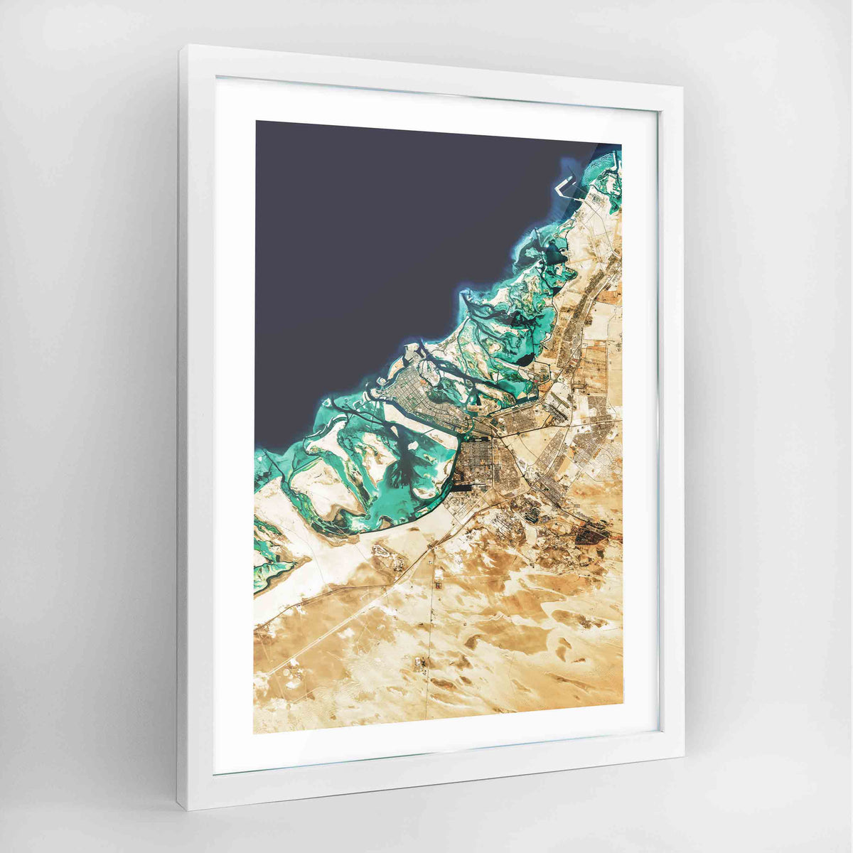 Abu Dhabi Earth Photography - Art Print