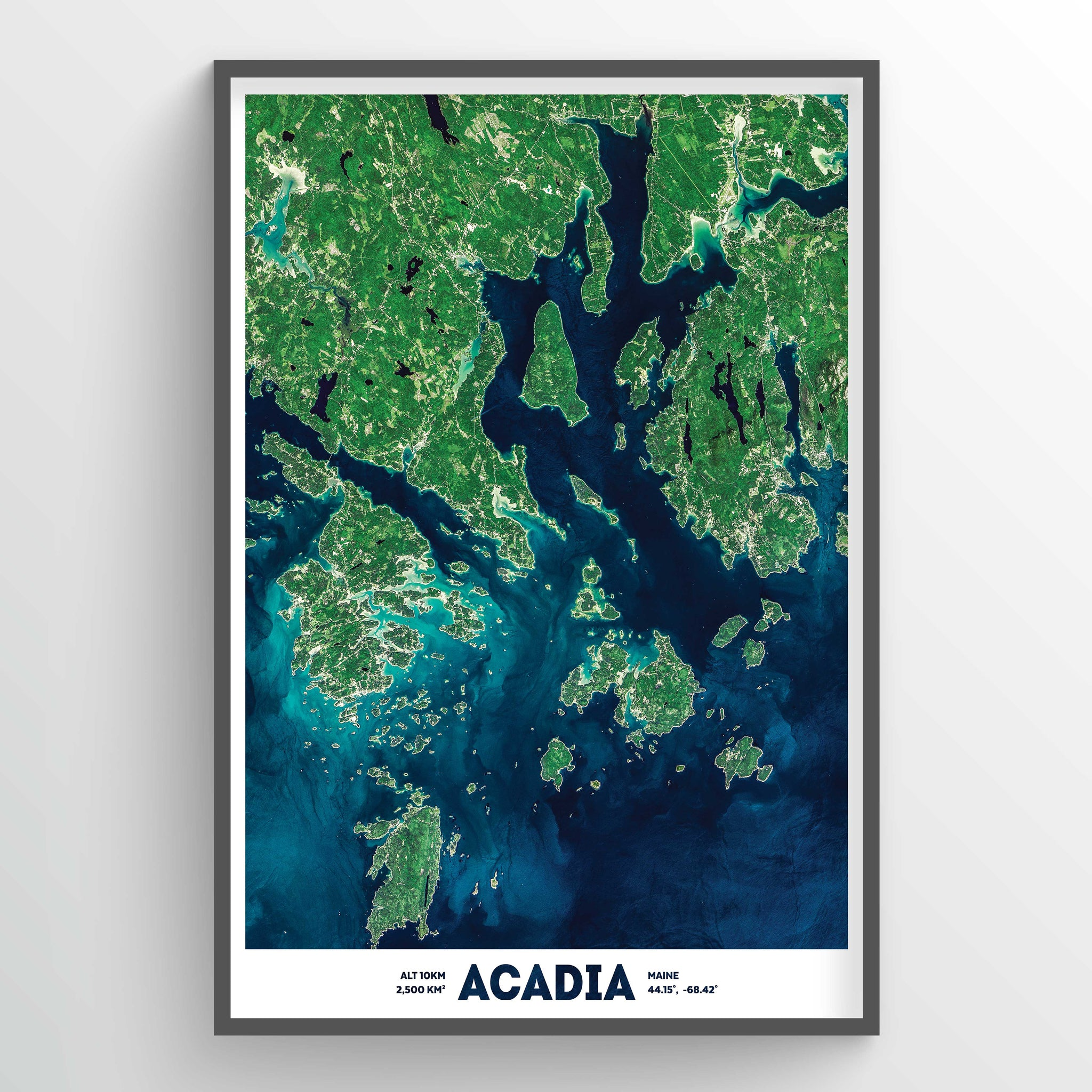 Acadia Earth Photography - Art Print