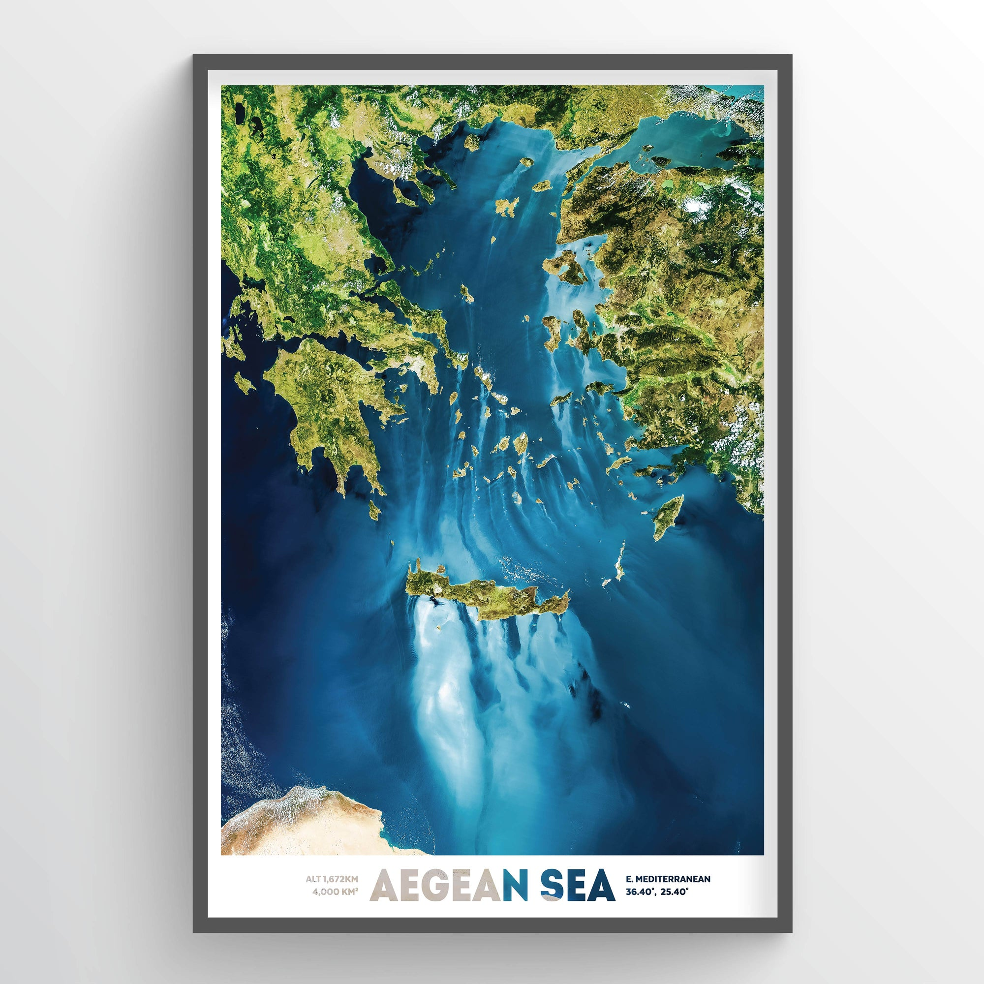 Aegean Sea Earth Photography - Art Print - Point Two Design