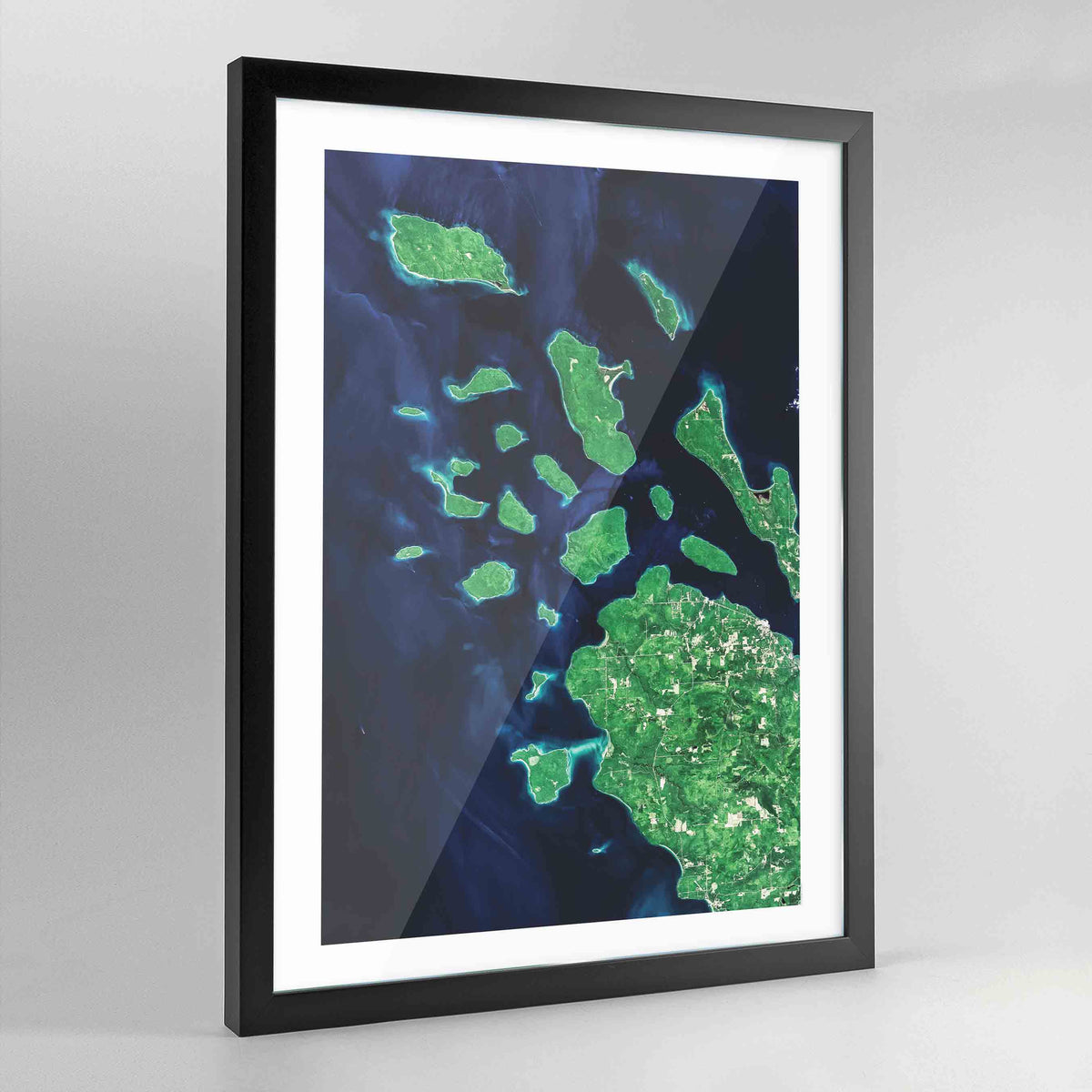 Apostles Islands Earth Photography Art Print - Framed