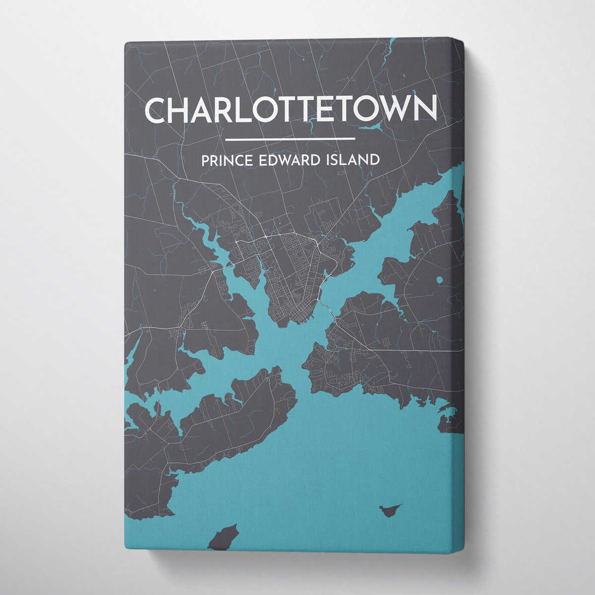 Charlottetown City Map - Point Two Design