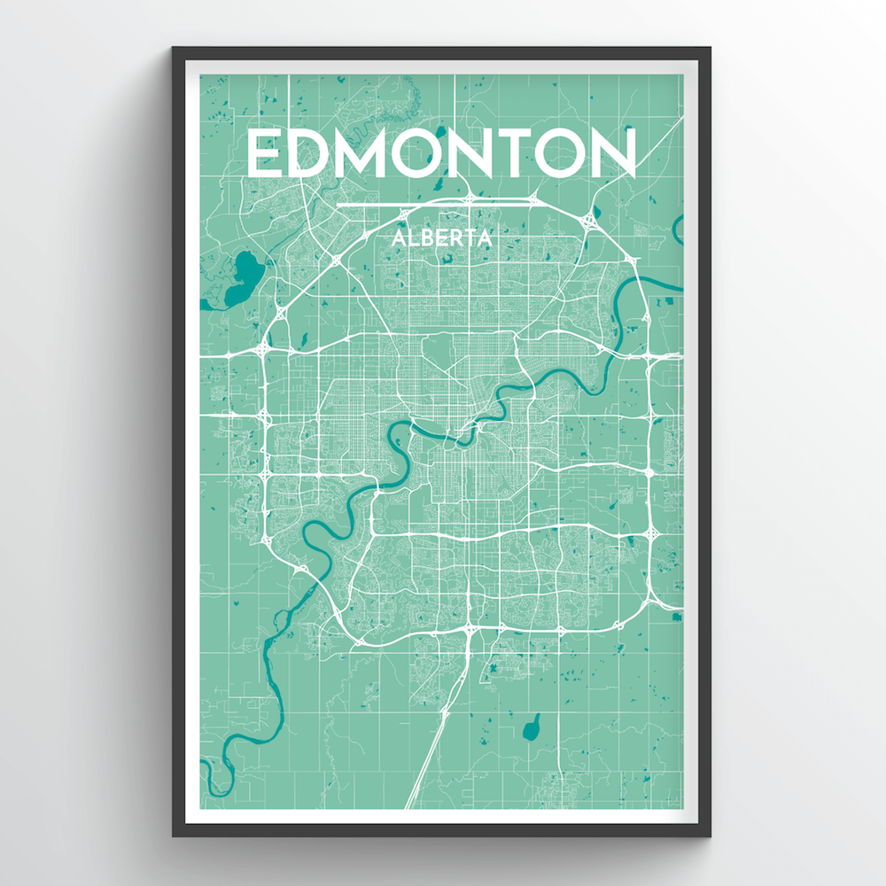 Edmonton City Map - Point Two Design