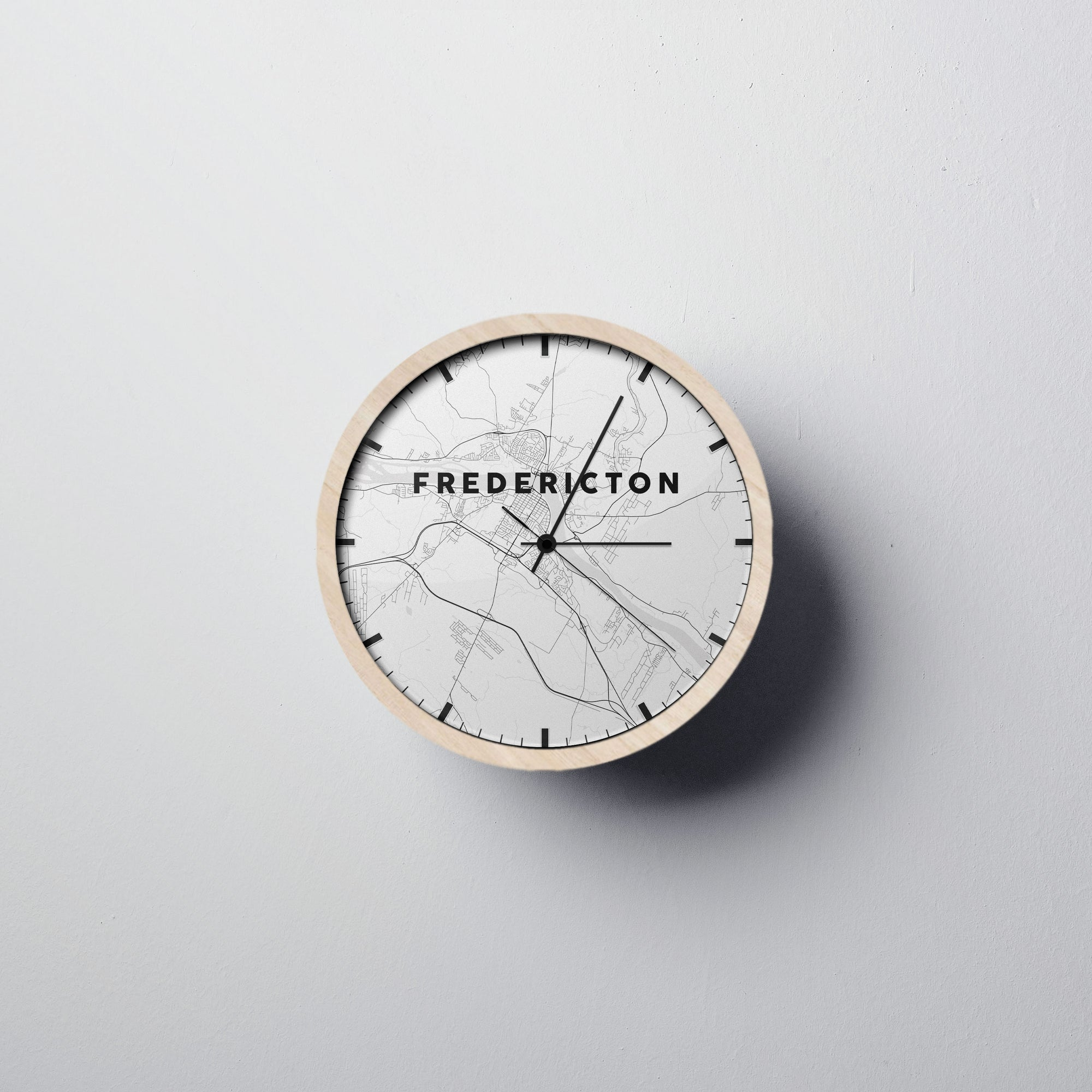 Fredericton Wall Clock - Point Two Design