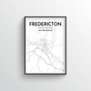 Fredericton City Map - Point Two Design