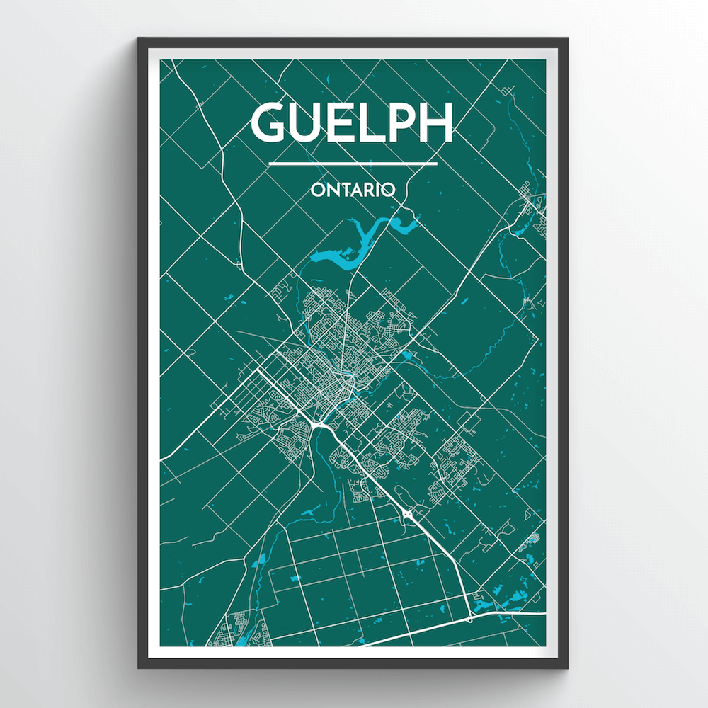 Guelph City Map - Point Two Design