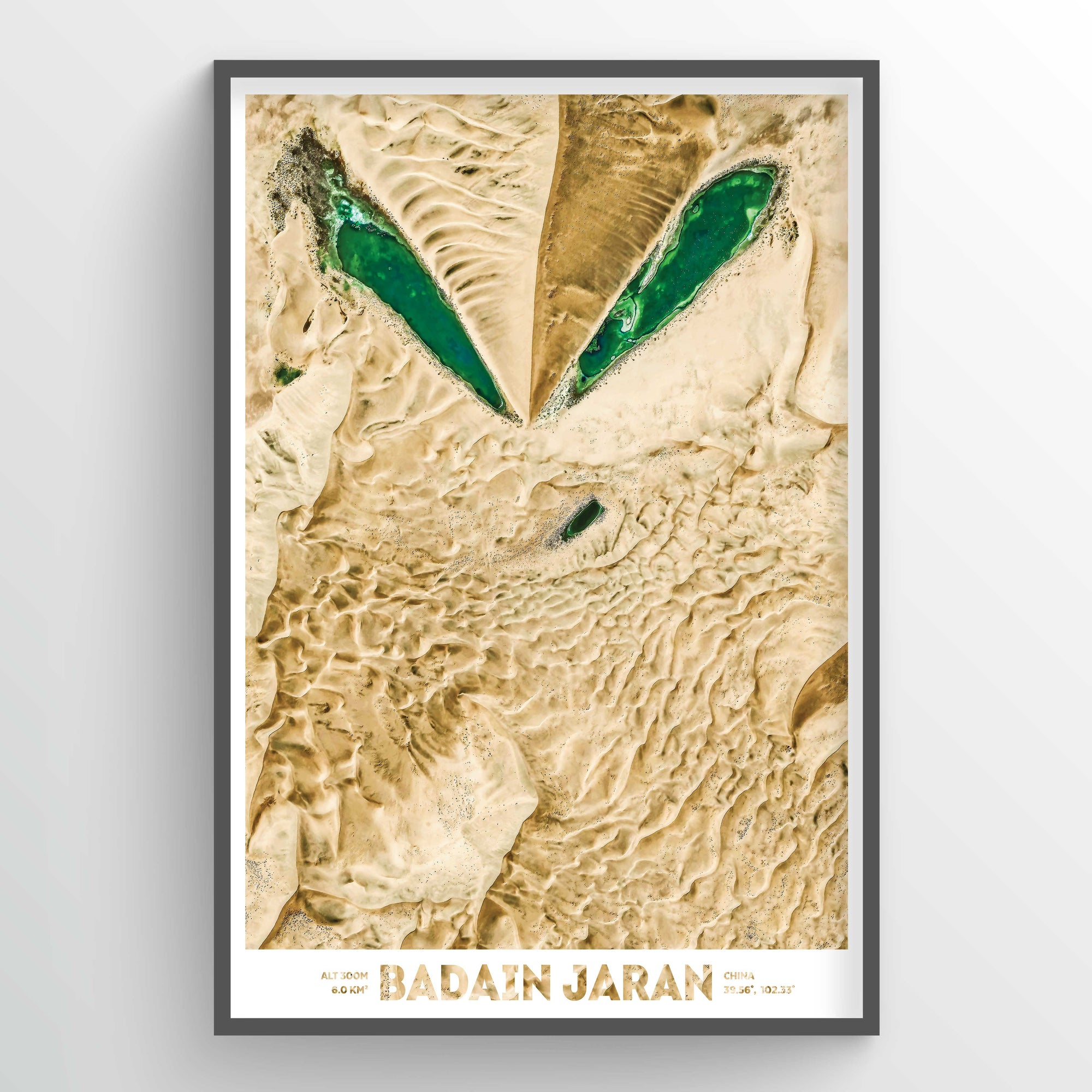Badain Jaran Earth Photography - Art Print - Point Two Design