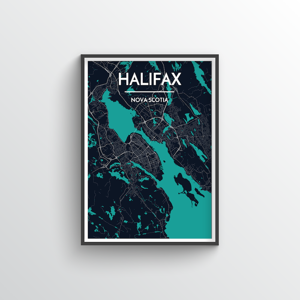 Halifax City Map - Point Two Design