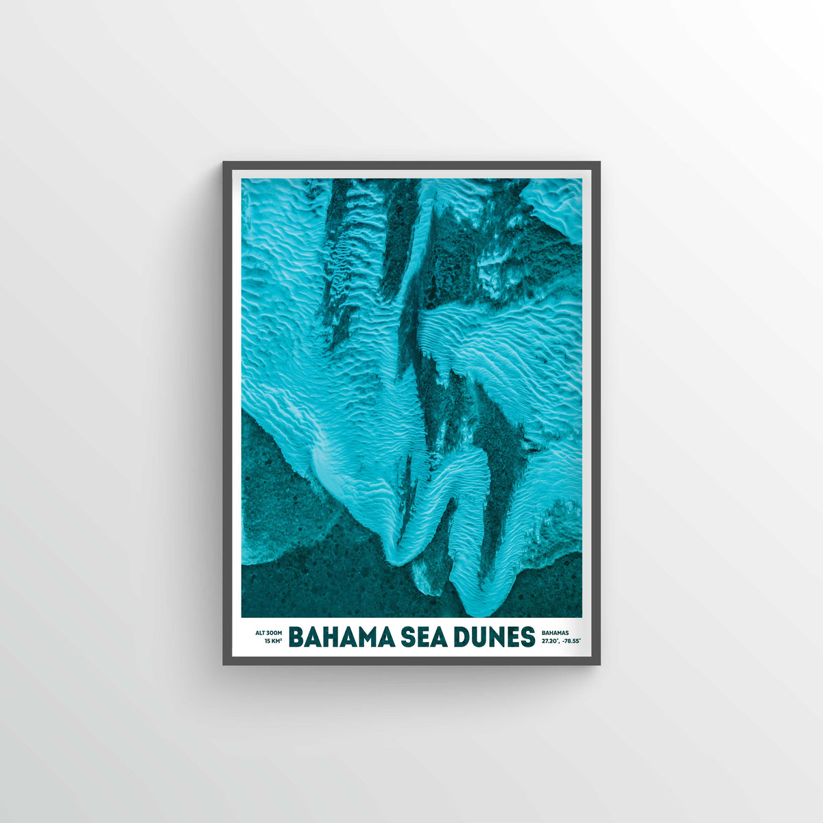 Bahama Sea Dunes Earth Photography - Art Print - Point Two Design