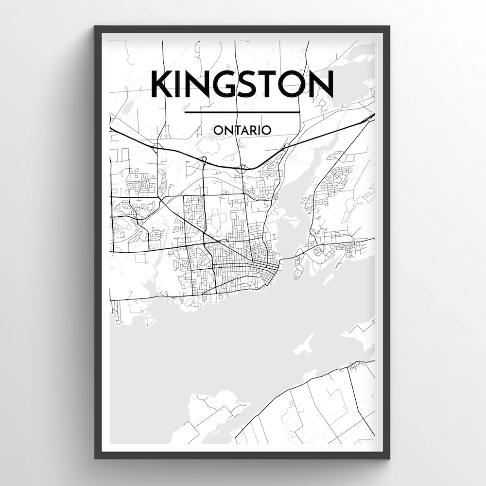 Kingston City Map - Point Two Design