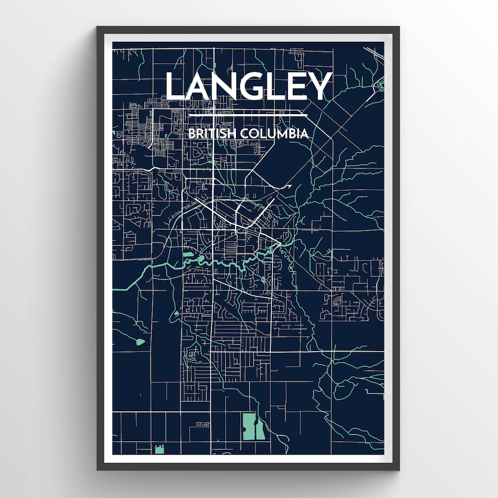 Langley City Map - Point Two Design