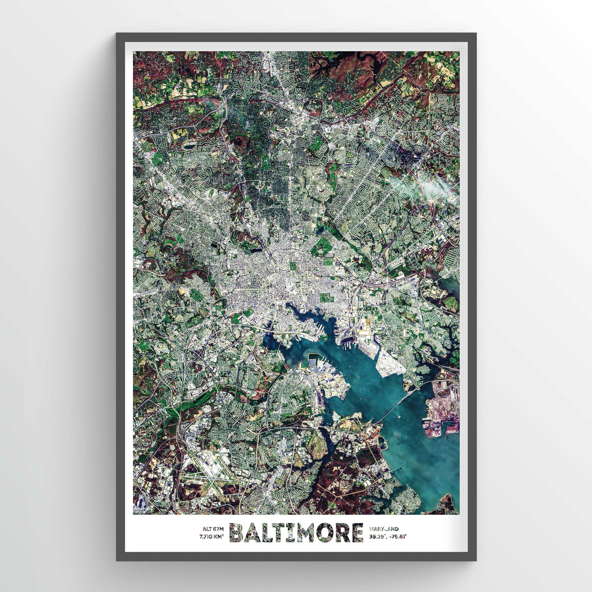 Baltimore Earth Photography - Art Print - Point Two Design