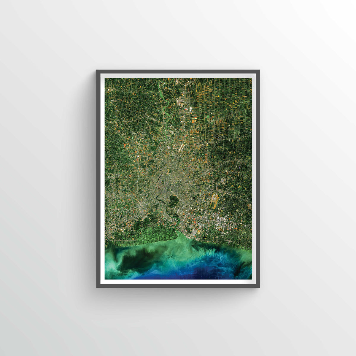 Bangkok Earth Photography - Art Print - Point Two Design