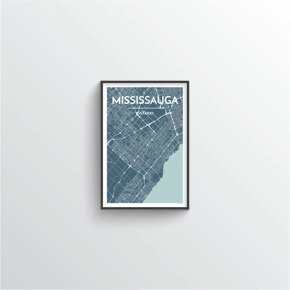 Missisauga City Map - Point Two Design
