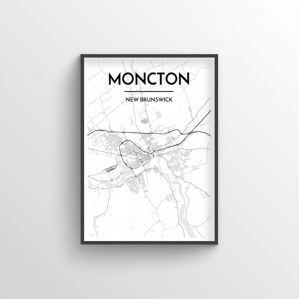 Moncton City Map - Point Two Design
