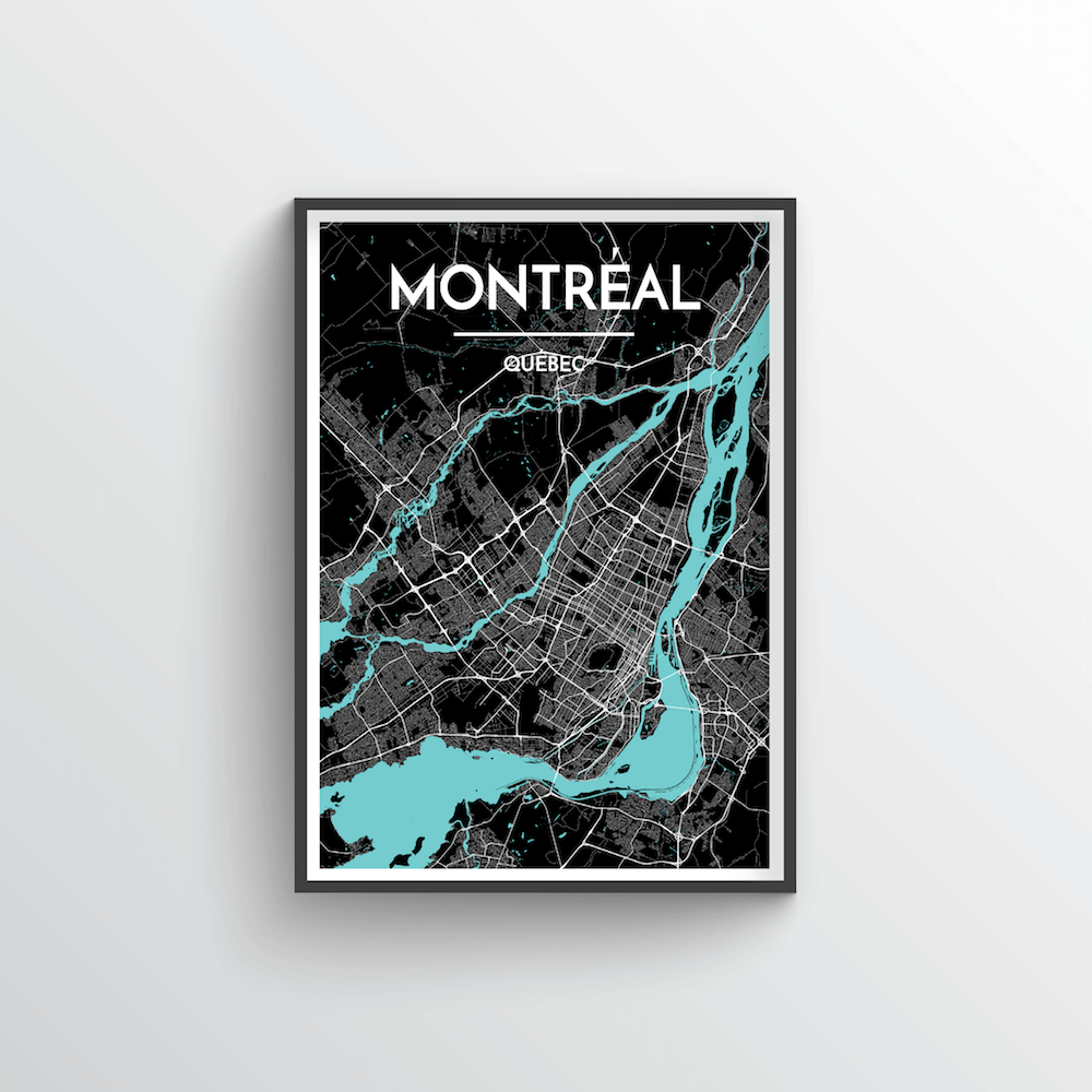 Montreal City Map - Point Two Design