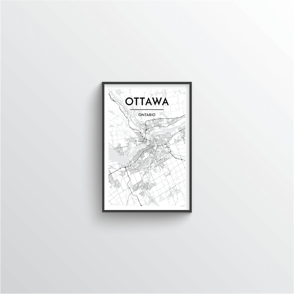 Ottawa City Map - Point Two Design
