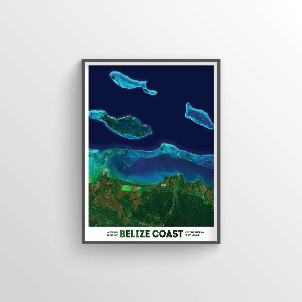 Belize Barrier Reef Earth Photography - Art Print - Point Two Design