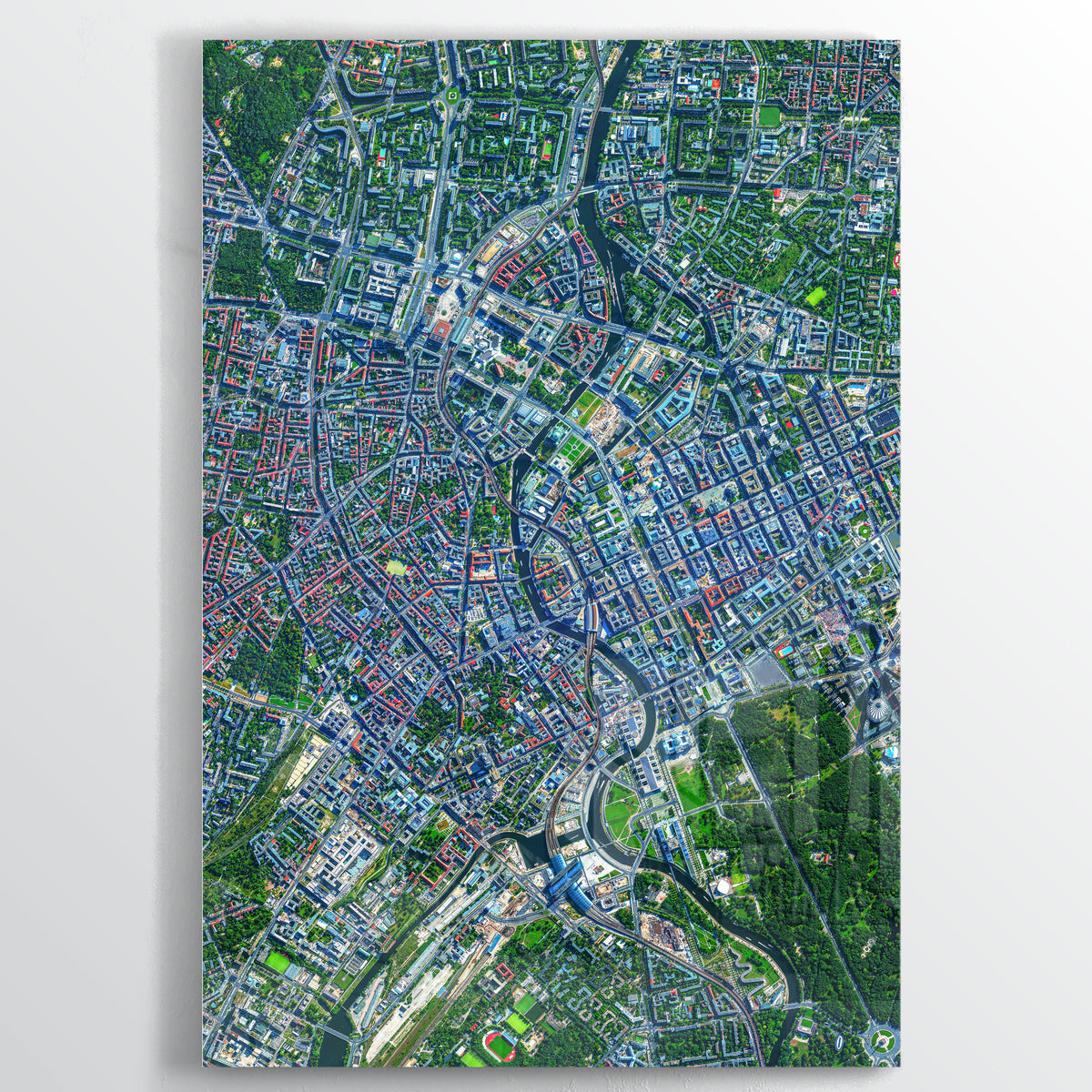 Berlin Earth Photography - Floating Acrylic Art - Point Two Design