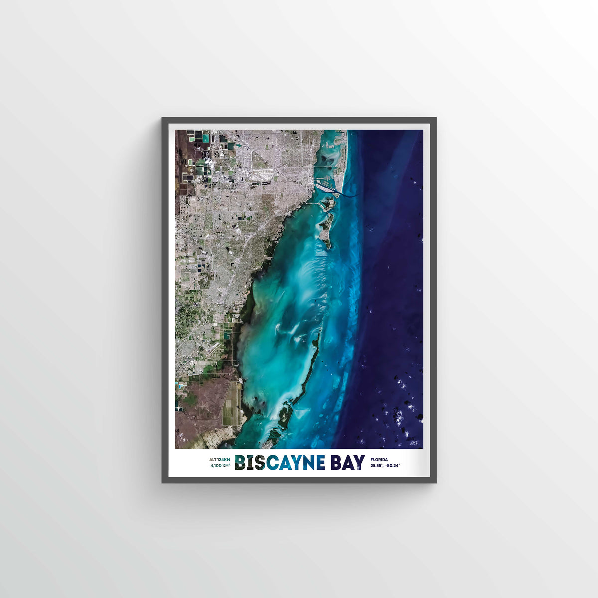 Biscayne Bay Earth Photography - Art Print - Point Two Design