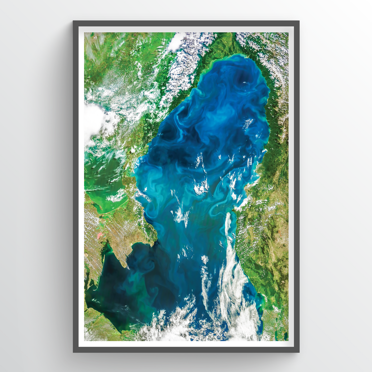 Black Sea Earth Photography - Art Print - Point Two Design