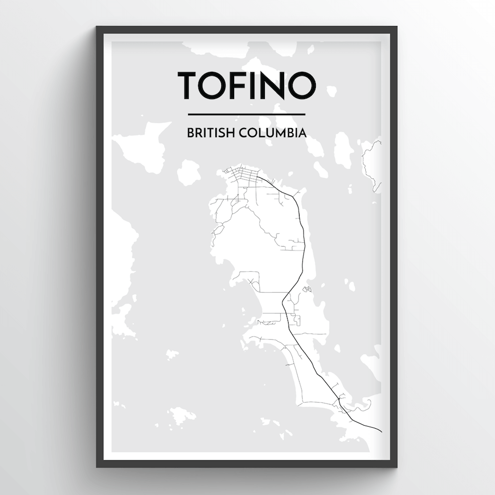Tofino City Map - Point Two Design
