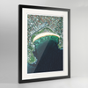 Bondi Beach Earth Photography - Framed Art Print