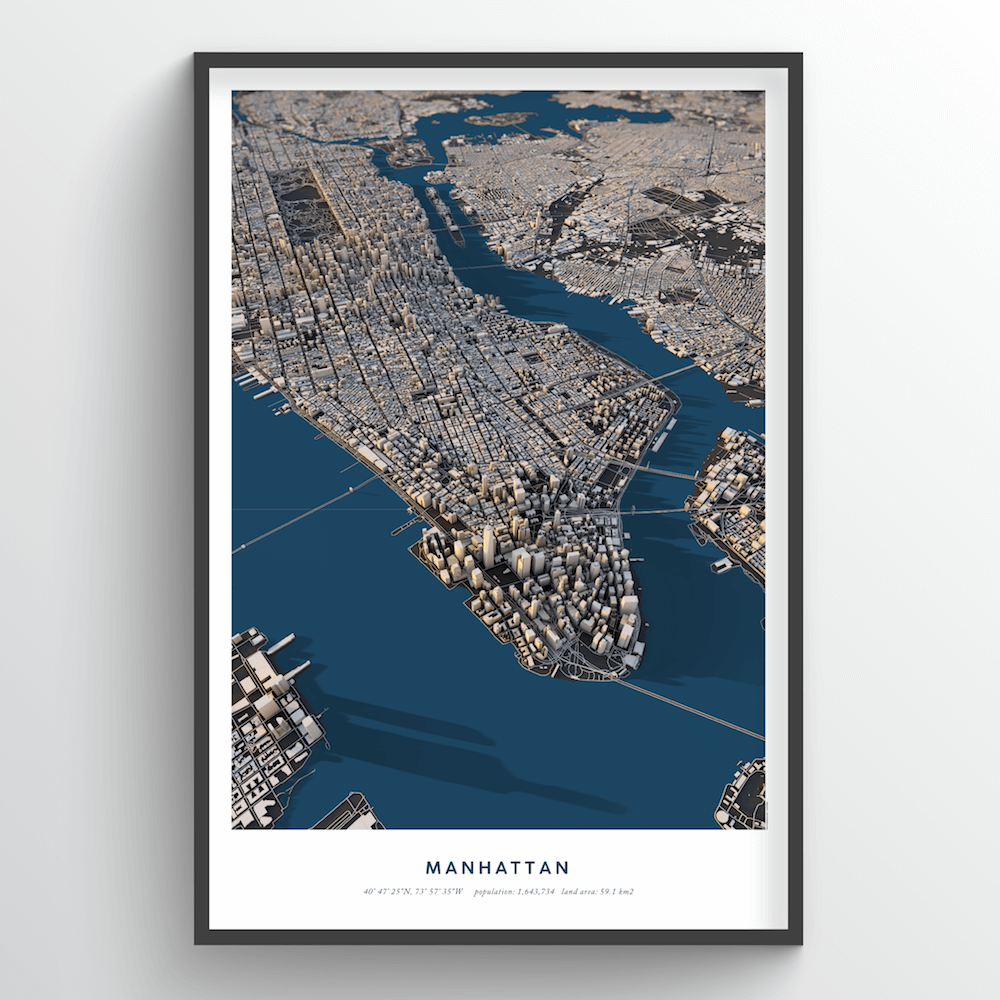 Manhattan 3D City Model