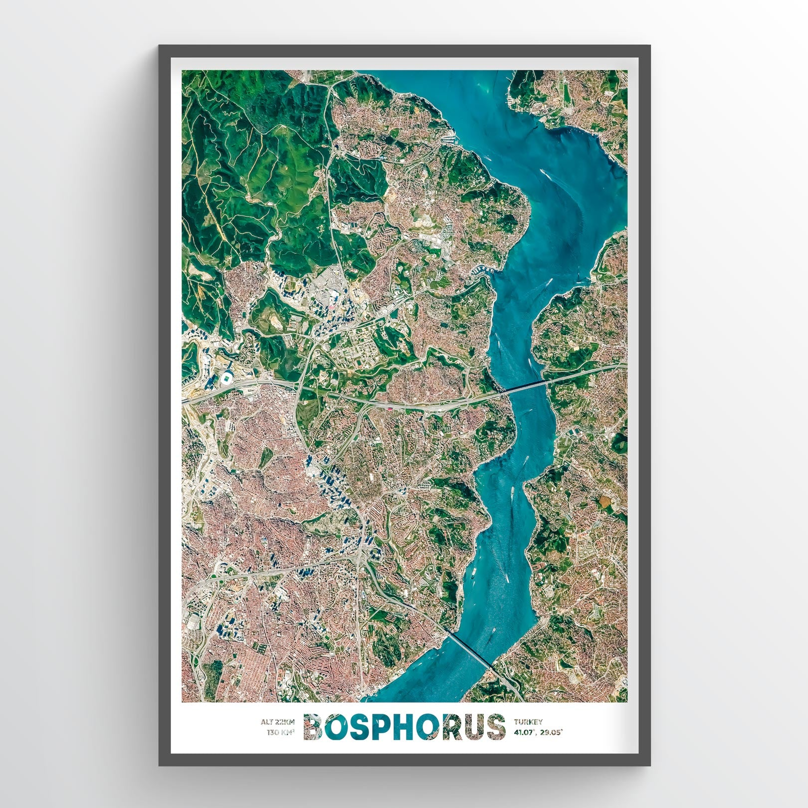 Bosphorus Earth Photography - Art Print - Point Two Design